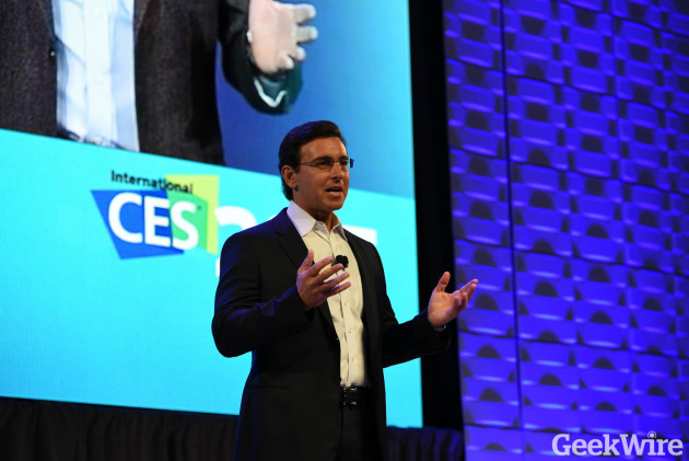 Mark Fields - Ford CEO at CES