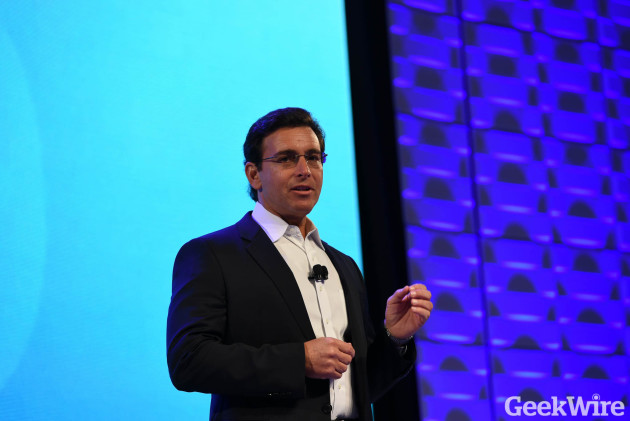 Ford CEO Mark Fields at CES.