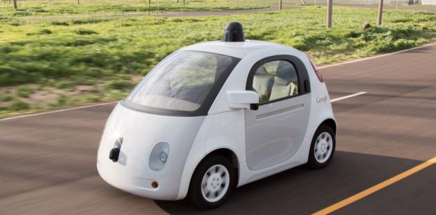 Google's self driving car project. Photo via Google.