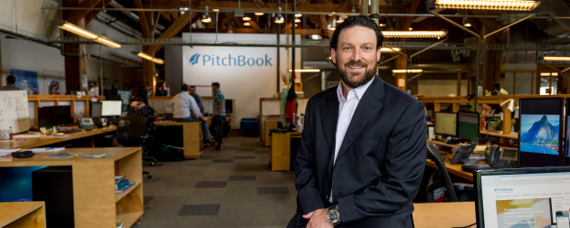 Pitchbook CEO John Gabbert.