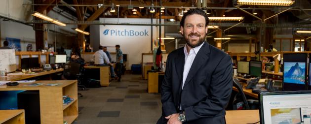 Pitchbook CEO John Gabbert.