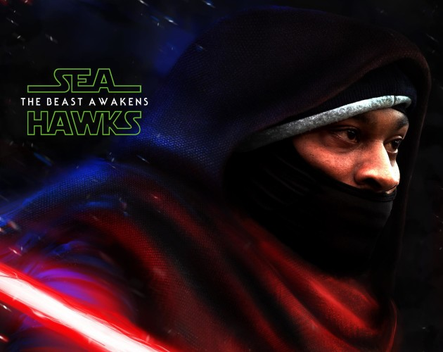 Seattle fans are hoping The Force is strong with this one on Sunday. (Seahawks via Facebook)