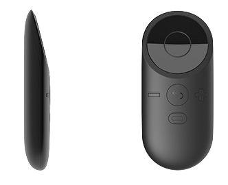 The Oculus Remote. Image via Oculus