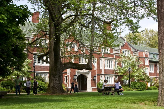 Reed College, founded in 1908 in southeast Portland, Ore. (Reed.edu)