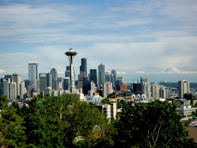 Seattle ranks second on Zillow's list of hottest housing markets in 2016. (Kurt Schlosser, GeekWire)