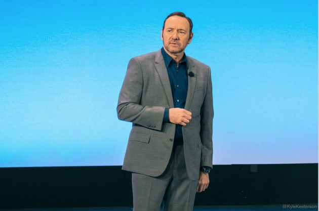 Kevin Spacey at the AT&T Developer Summit in Las Vegas. Photo: Kyle Kesterson