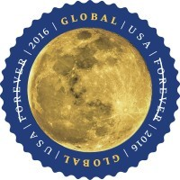 Moon stamp