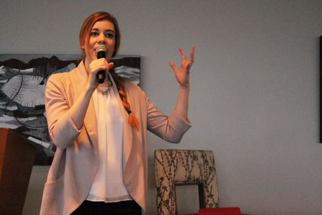 Female Funders founder Katherine Hague.