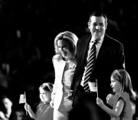Ted Cruz and family