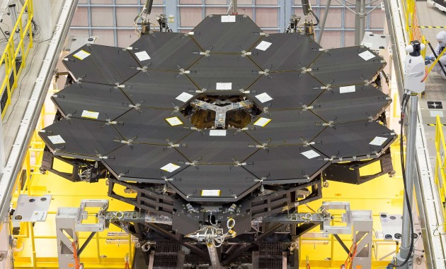 Webb telescope mirrors