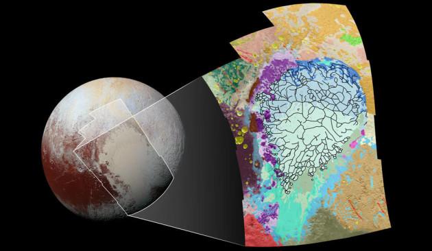 Pluto heart geology