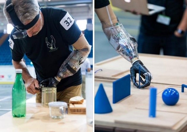 Prosthetic arm competition