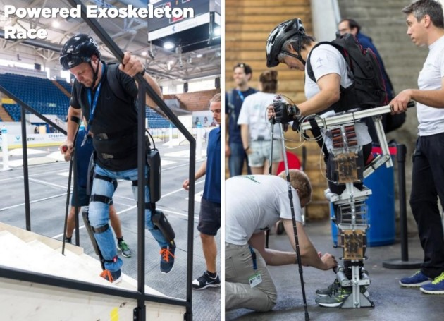 Image: Exoskeleton competitors