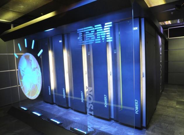 IBM Watson supercomputer