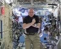 Scott Kelly on ISS