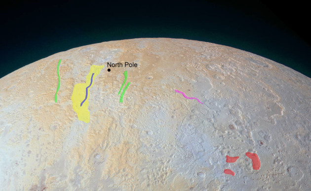 Annotated Pluto image