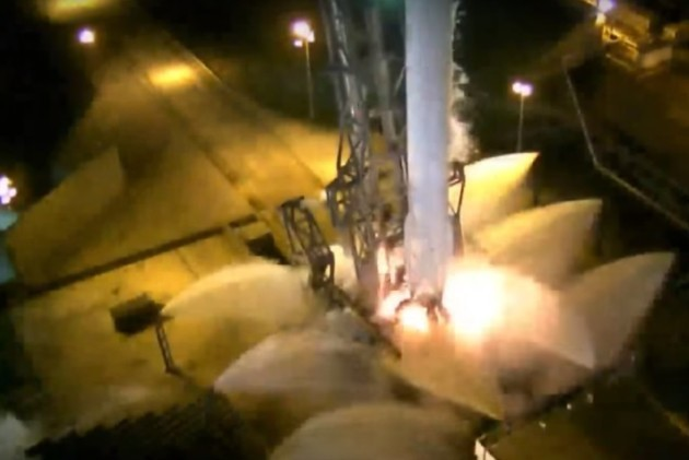 SpaceX Falcon 9 shutdown