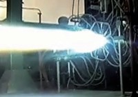 BE-4 engine testing