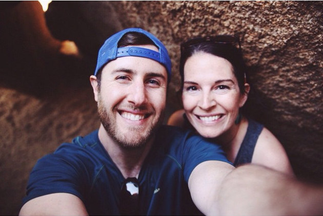 """REI employee Paolo Mottola and his wife, Amanda Mottola in Joshua Tree National Park on a """"Yay Day"""" — one of the perks offered by the Seattle-based outdoor retailer. (Via Flickr.)"""