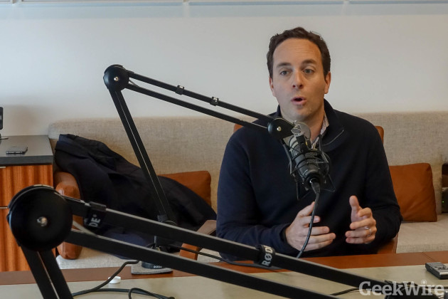 Zillow Group CEO Spencer Rascoff on a past episode of the GeekWire podcast.
