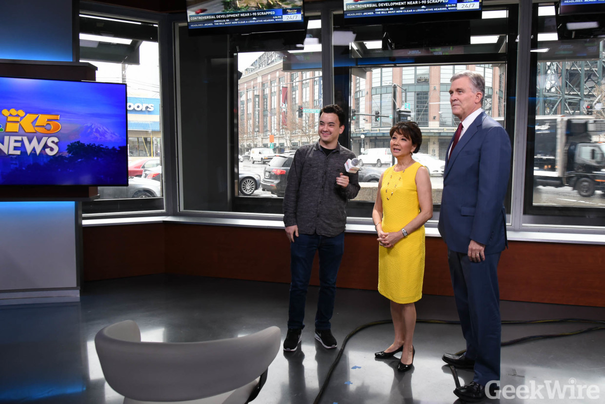 Video: Inside KING-TV's new Seattle HQ, with a giant
