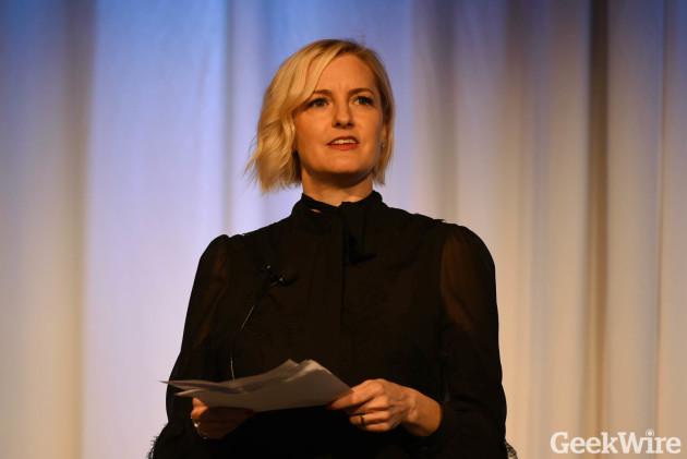 GlamHive co-founder Stephanie Sprangers. (GeekWire File Photo.)