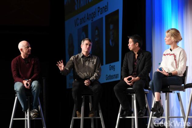 Greg Gottesman speaks at GeekWire Startup Day 2016.