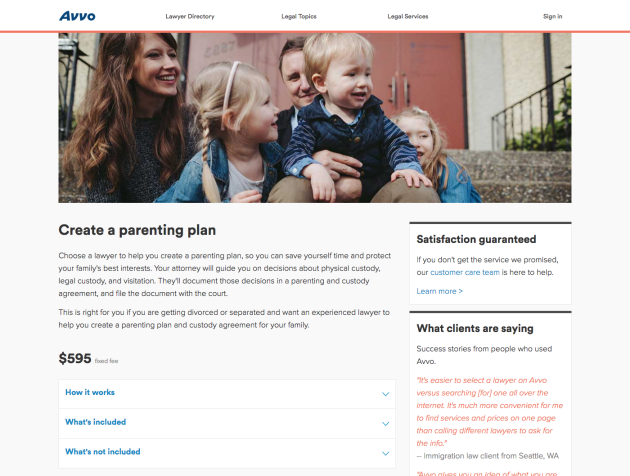 Avvo Legal Services - Create a parenting plan[3][1]