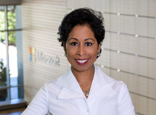 Gwen Houston, Microsoft's General Manager of Global Diversity and Inclusion. (Microsoft Photo.)