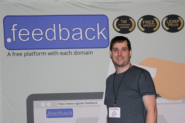 Jay Westerdal from the Feedback Registry