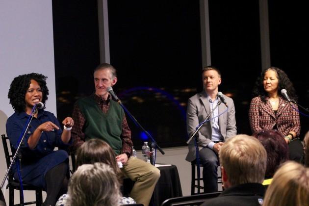 Nela Richardson, Ed Lazowska, David Cutler, and Pamela Banks.