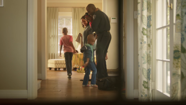 A scene from Zillow's recent ad campaign.