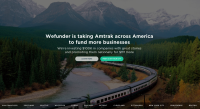 WeFunder Amtrak trip