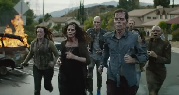 Zombies feel alive thanks to running in Brooks' first-ever national ad campaign