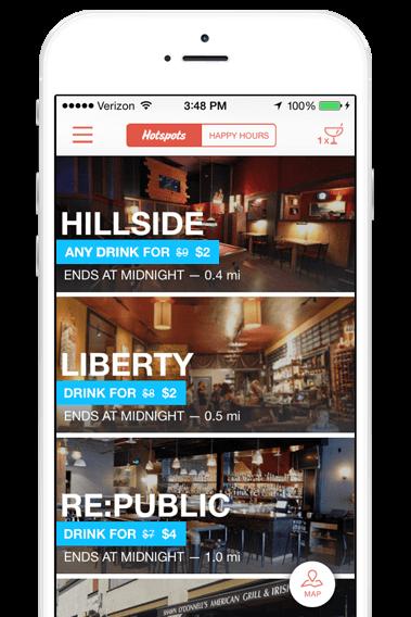 The Hotspot app