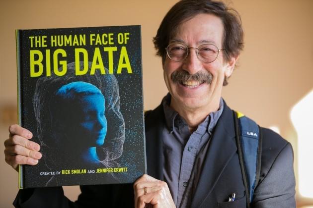 Sandy Smolan (Credit: The Human Face of Big Data.)