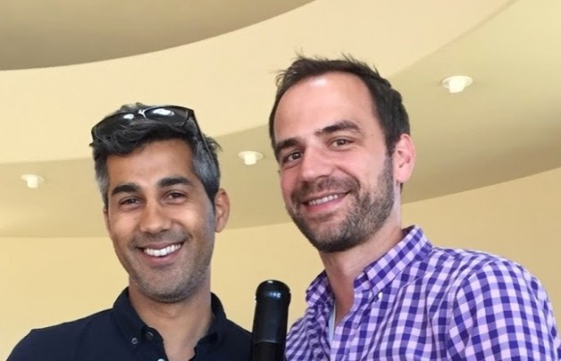 Amperity founders Kabir Shahani and Derek Slager