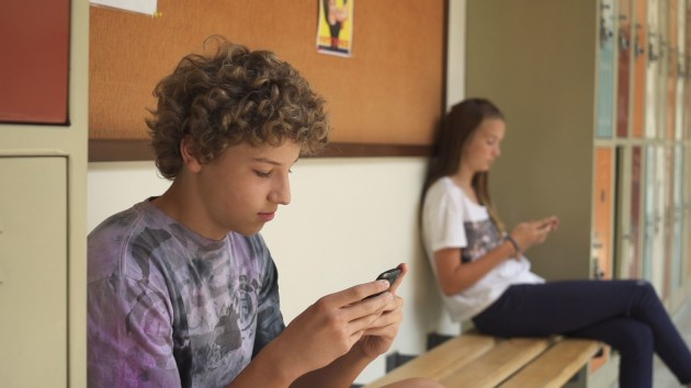 Teens spend an average of 6 1/2 hours a day on screens. (Indieflix)