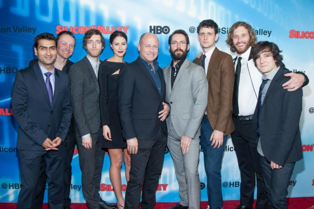 The Silicon Valley cast. Photo via Silicon Valley/HBO.
