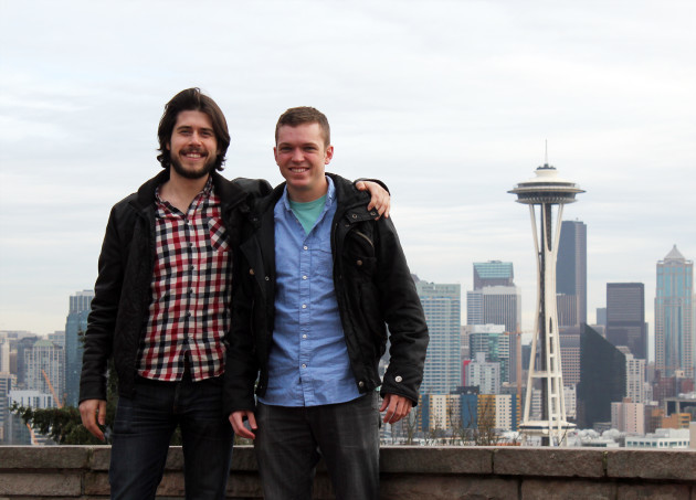DTH Co-founders Skyler Bissell and Tim Strother.