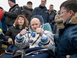 Scott Kelly after year in space