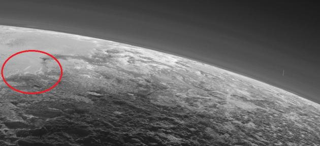 Image: Pluto wisps