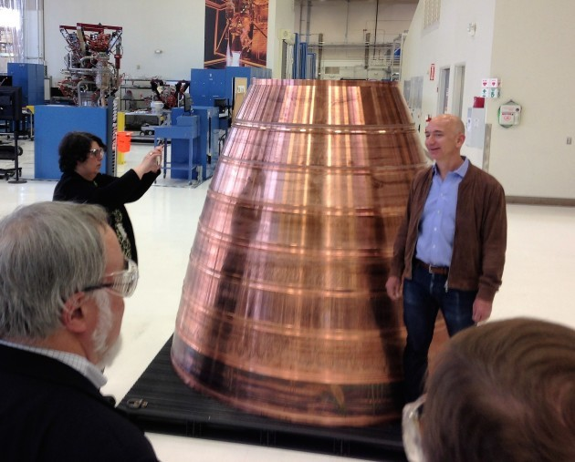 Jeff Bezos at Blue Origin