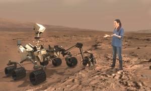Destination: Mars and Erisa Hines