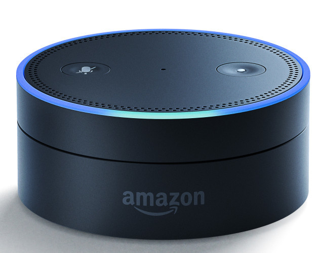 Amazon's Echo Dot. Image via Amazon.