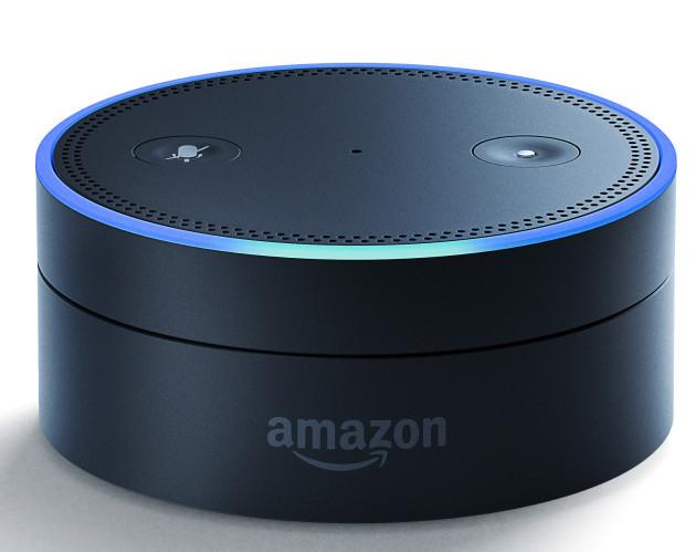 Echo Dot. Image via Amazon.