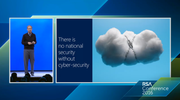 Brad Smith Cloud RSA conference