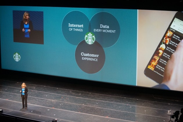 Starbucks CTO Gerri Martin-Flickinger