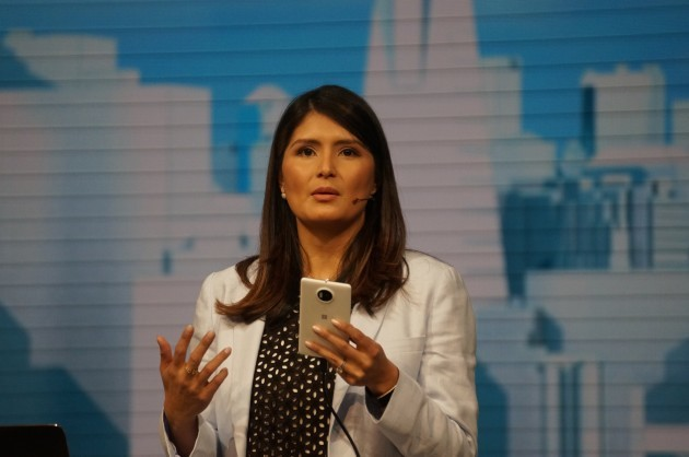 Skype general manager Lilian Rincon