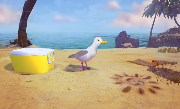 "A screenshot of Motional's film ""Gary the Gull"" via Limitless"